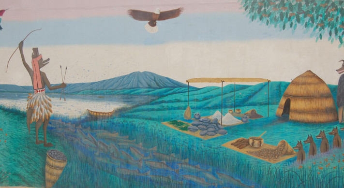 Ohlone mural creation story